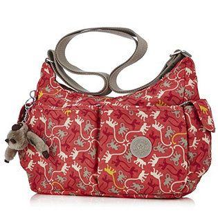 Kipling Lilse Shoulder Bag with Crossbody Strap