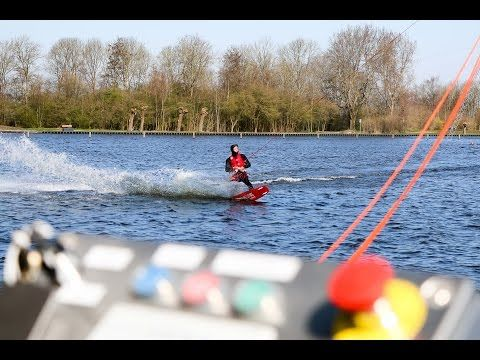 (2) LC video: Testdag bij Waterskibaan Sneek - YouTube