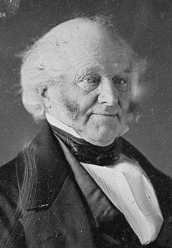 Martin Van Buren (1782-1862), New York, The 8th President of the United States.