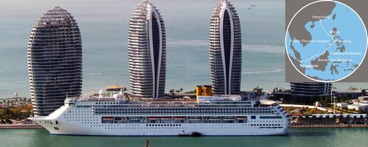 Costa Victoria ile Brunei Malezya Filipinler