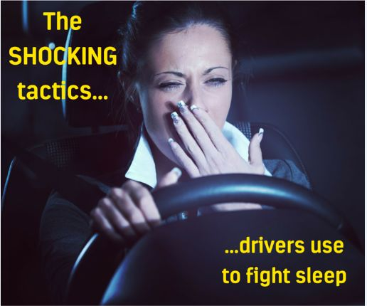 You won't believe the tactics some drivers use to fight sleep!  http://www.racq.com.au/about/blog/2016/june/you-wont-believe-the-tactics-some-drivers-use-to-fight-sleep?cat=&archive=