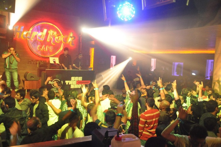 Hard Rock Cafe Hyderabad Celebrations