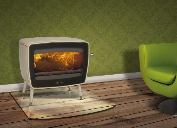 Kaminofen Dovre Vintage 50 Gussofen 7kW Ambiente