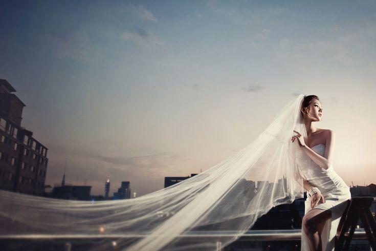 Korea Pre-Wedding Photography in Studio & Dosan Park, Seoul by May Studio on OneThreeOneFour 11