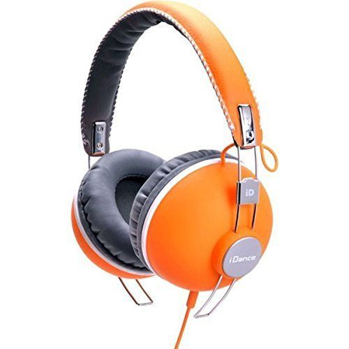 iDance HIPSTER 704 Headband Headphones - Orange & Black