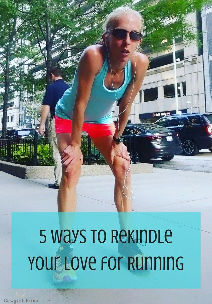 5 Ways to Rekindle Your Love for Running