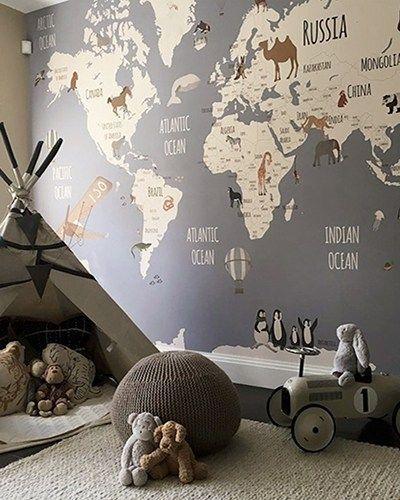 World Map Explorers I – Little Hands – #Explorer…