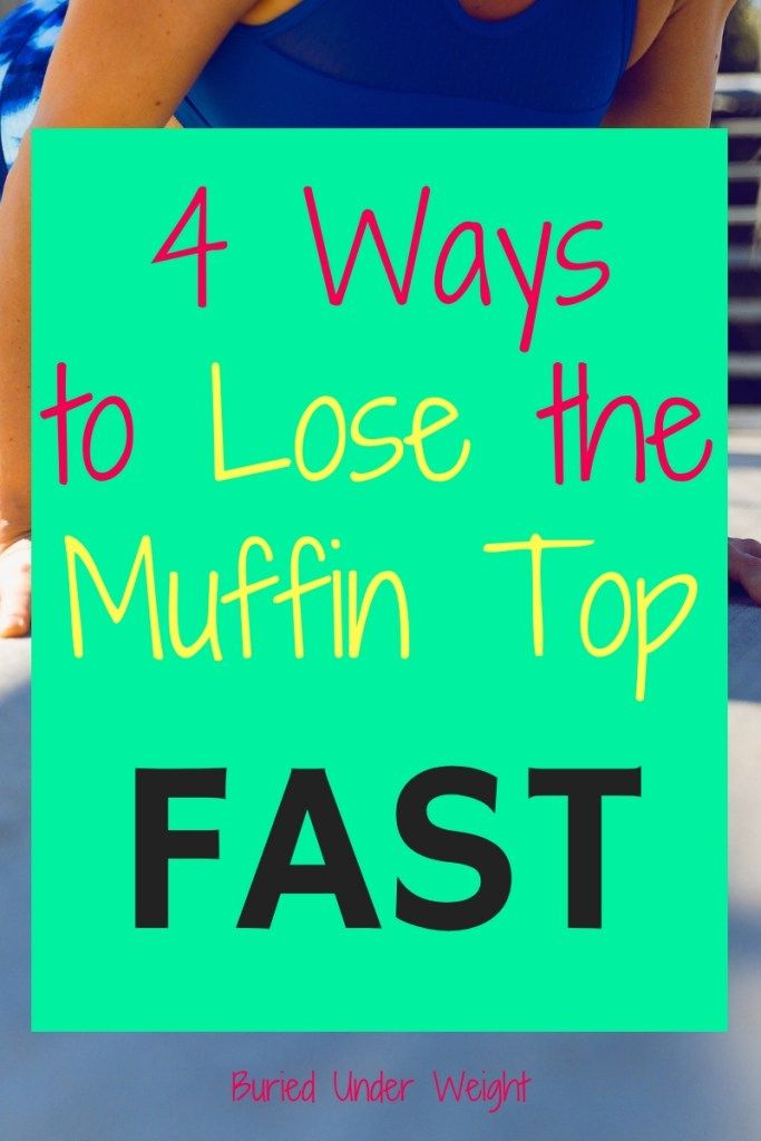 Diet plan for losing muffin top