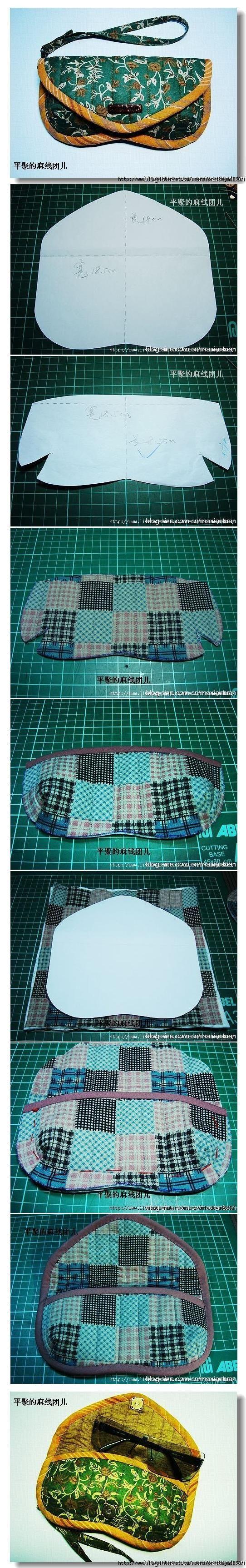 DIY Sunglasses Bag
