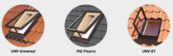 MAYDISA:La lucera es la solución más económica para iluminar y ventilar estancias, y da un perfecto resultado en pequeños espacios. La parte interior está fabricada en pino nórdico y la parte exterior está recubierta de aluminio.   Se suministran completas: con marco, hoja, cristal, juntas de estanqueidad en todo el perímetro y alrededor del cristal y tapajuntas integrado para un fácil y rápido montaje.  Hay 3 versiones: Unv-Universal, Piz-Pizarra y Unv-ST según tipo de cubierta.