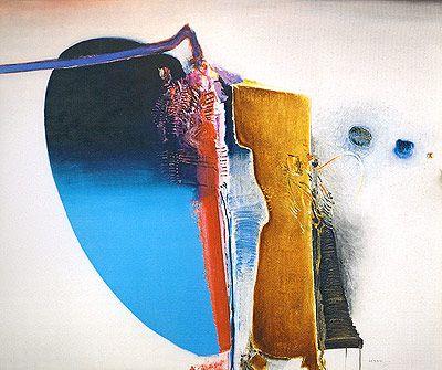 Destino 1969   Manabu Mabe óleo sobre tela, c.i.d. 110.00 x 160.00 cm