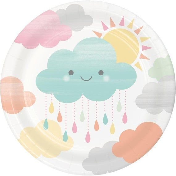 Tiny Cloud Plate