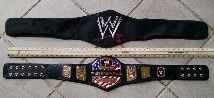 WWE United States Championship Belt 100% Authentic✅ Metal Plates 2mm KIDS SIZE #WWE
