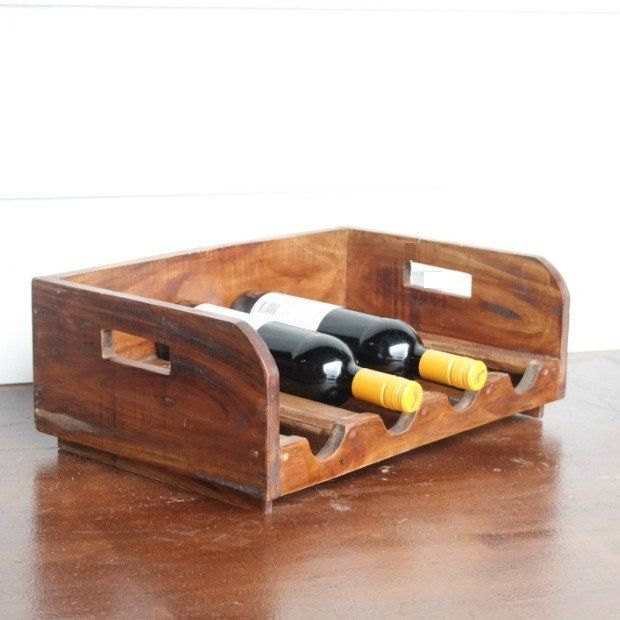 Small Country Cottage Wine Rack