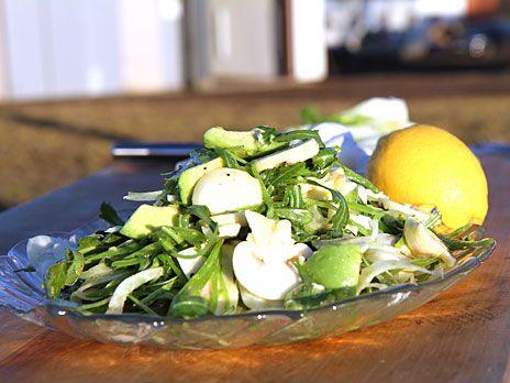 Sallad med champinjoner med fänkål | Recept från Köket.se