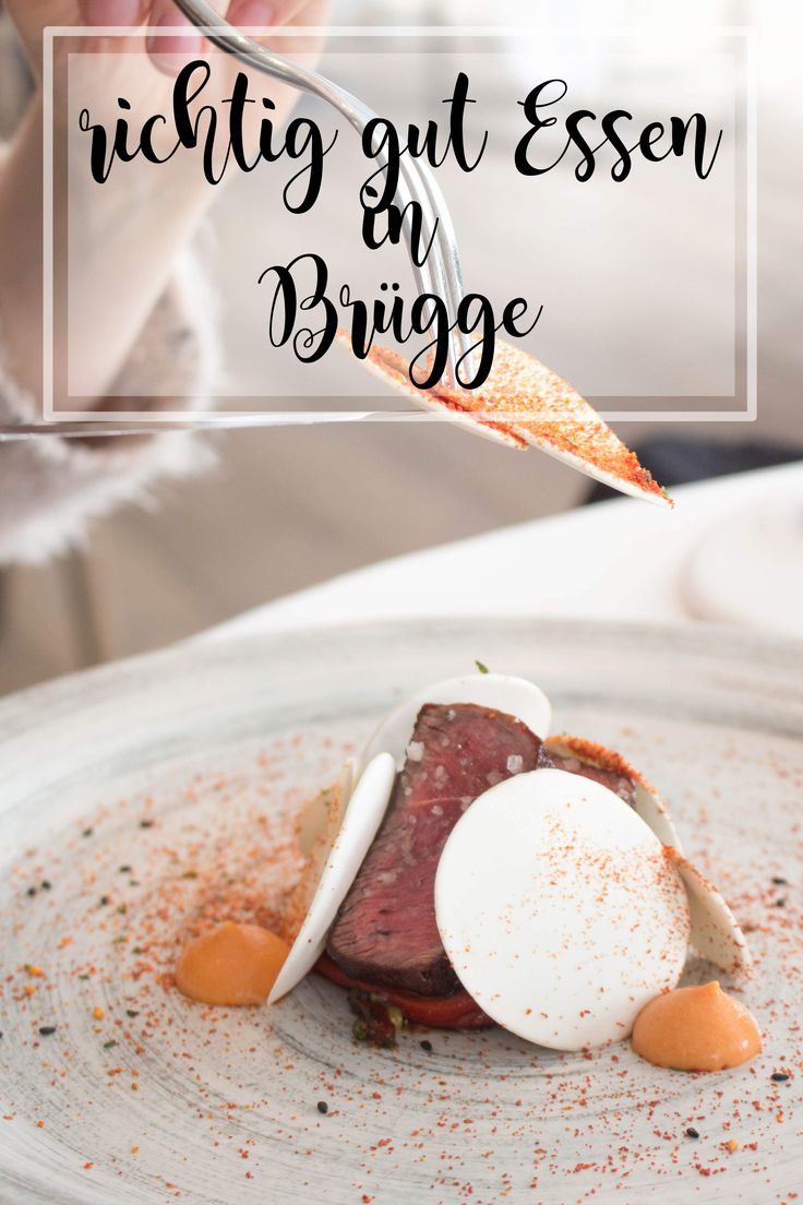 Im kulinarischen Himmel! Zu Gast im 3 Sterne Restaurant Hertog Jan in Brügge