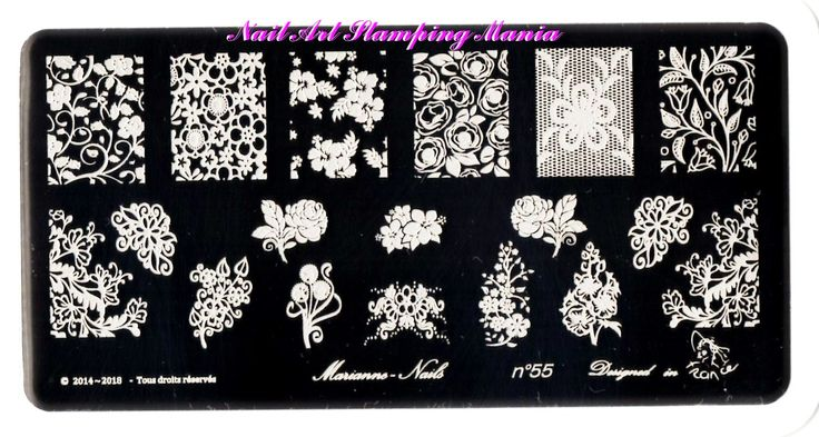 Nail Art Stamping Mania: Marianne - Nails Plates Swatches And Review  http://nailartstampingmania.blogspot.it/2015/02/marianne-nails-plates-swatches-and.html