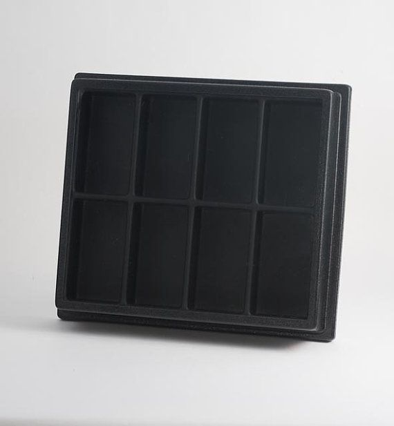 Action Figure Display Case with Dust Cover and wall by Displaygo, $40.00
