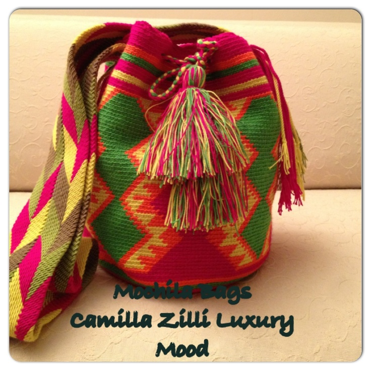 Mix colours Wayuu Bag