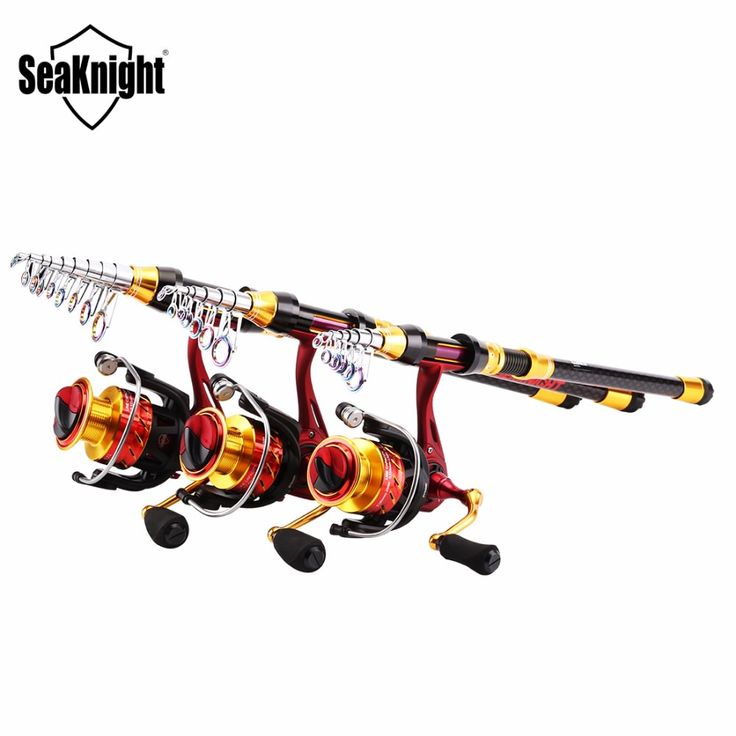 SeaKnight REAVER+FENICE Fishing Rod Combo Telescopic Rod 1.8 2.1 2.4 2.7 3 3.6M+ 5.2:1 11BB Spinning Fishing Reel Fishing Tackle //Price: $87.99 & FREE Shipping //     #fishing #flyfishing #trout #fish #fishinglife