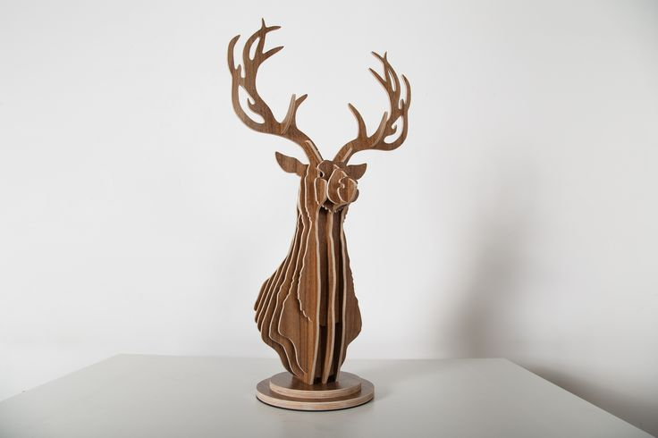 Wall Decor Plywood Stag Head Trophy Deer : Best plywood trophy images on