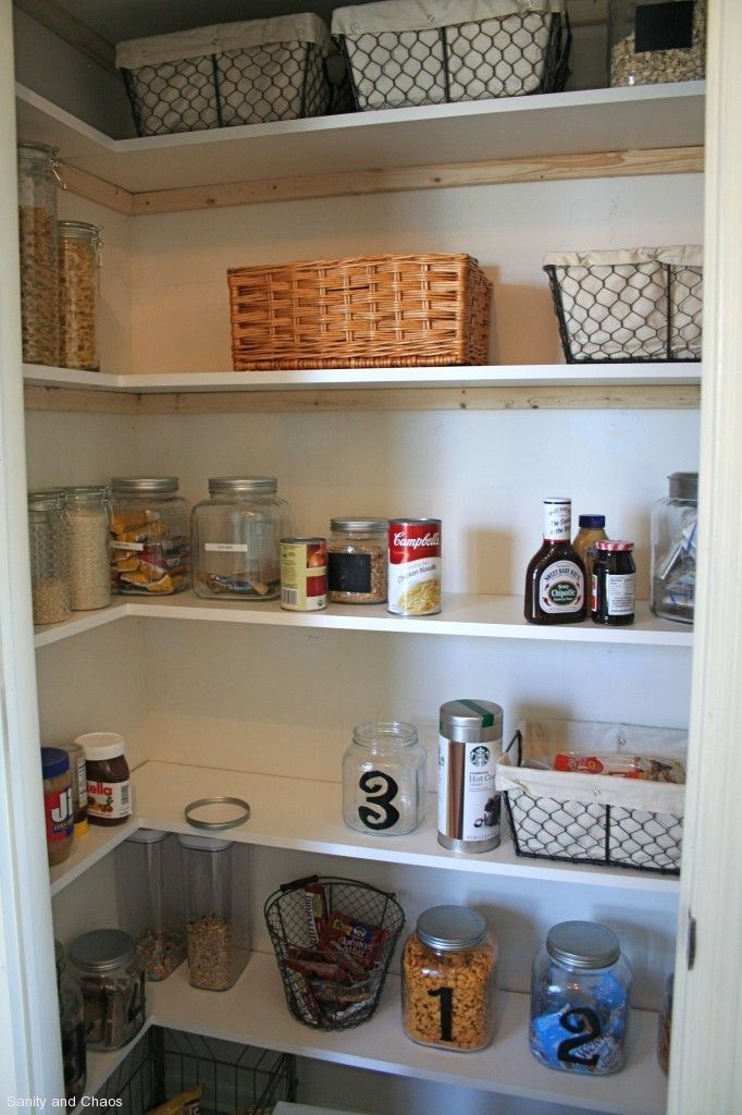 for re building my pantry shelves home general pantry pantry makeover pantry shelving. Black Bedroom Furniture Sets. Home Design Ideas