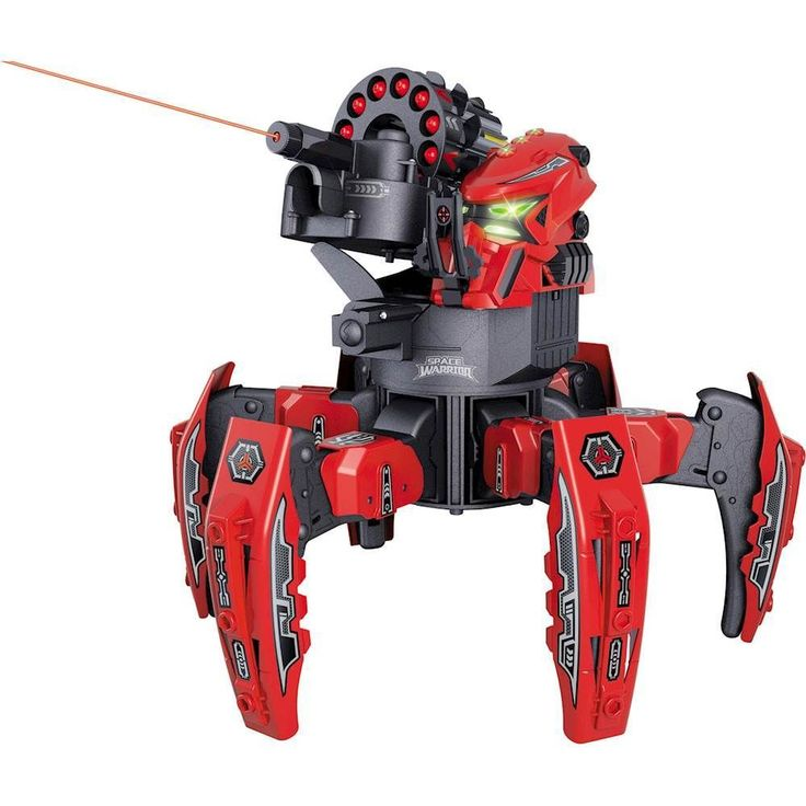 Riviera RC - Space Warrior Battle Robot - Red