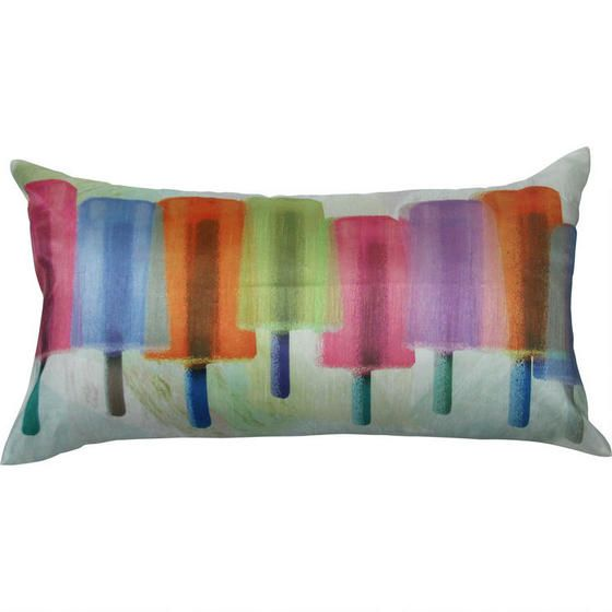 Delish Popsicle Toss Cushion