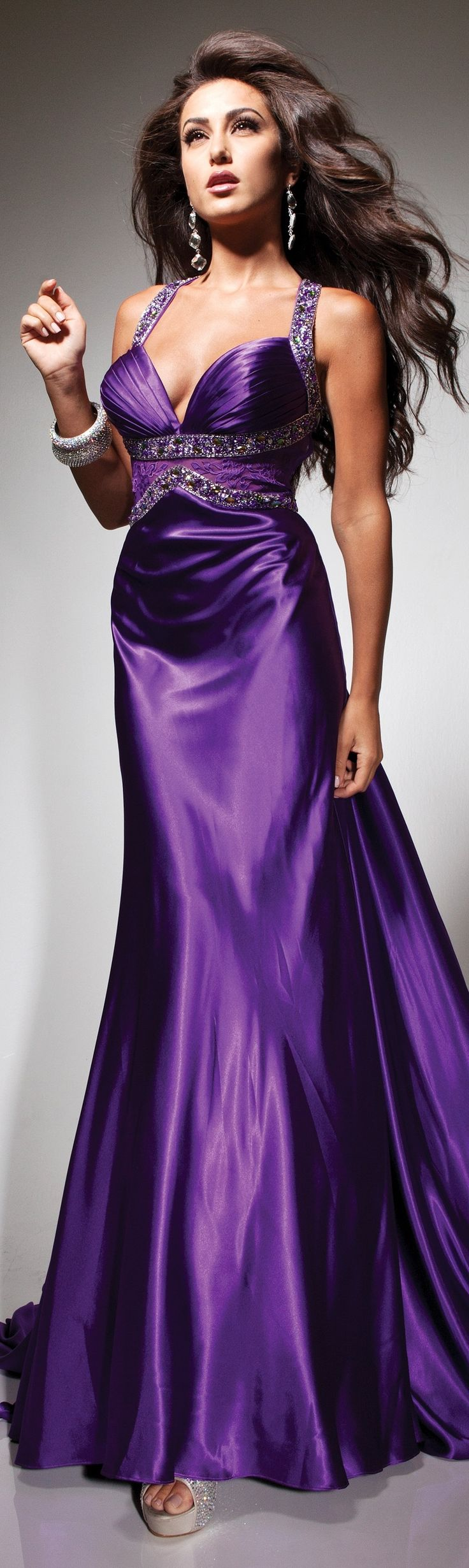 This Purple dress from Tony B couture 2013/2014 is the perfect amount of GORGEOUS!!!