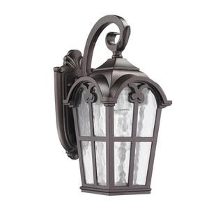Transitional Corrosion-resistant 1-light Bronze Outdoor Wall Light Fixture - Overstock™ Shopping - Big Discounts on Wall Lighting