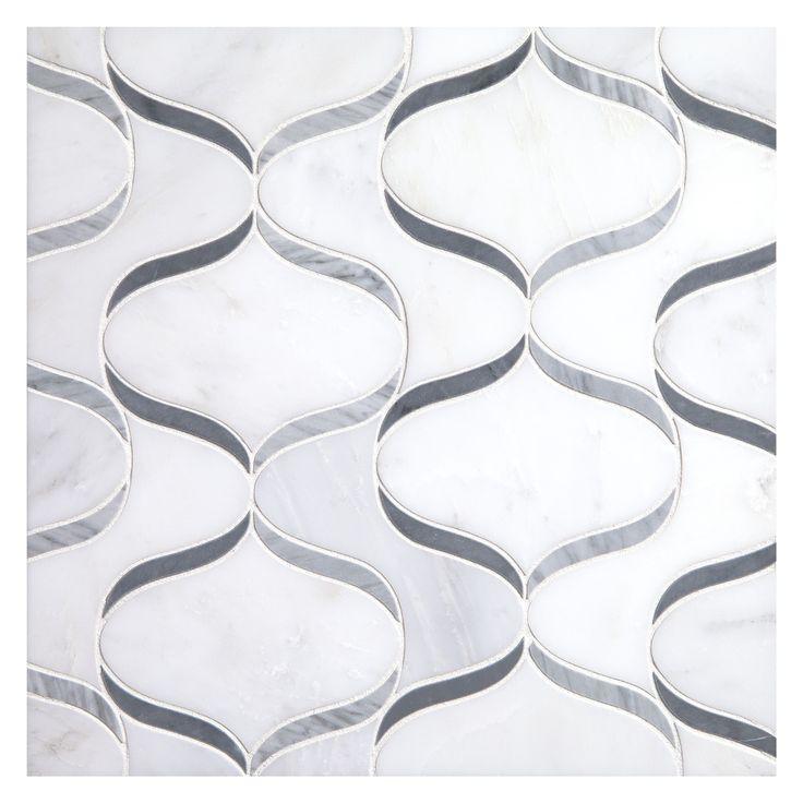 Complete Tile Collection Unique Mosaic Patterns Genie Whisper In Greys White Mi Color Blossom H Bardiglio P Dark Carrara