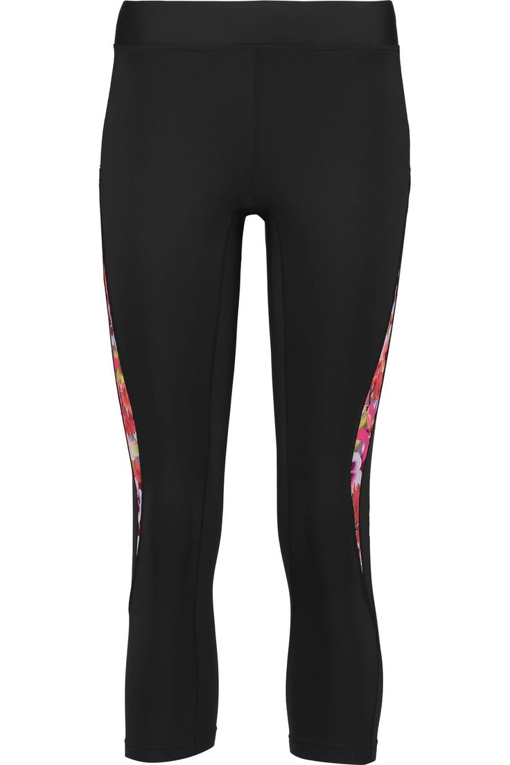 REBECCA MINKOFF Avery cropped stretch-jersey leggings. #rebeccaminkoff #cloth #leggings