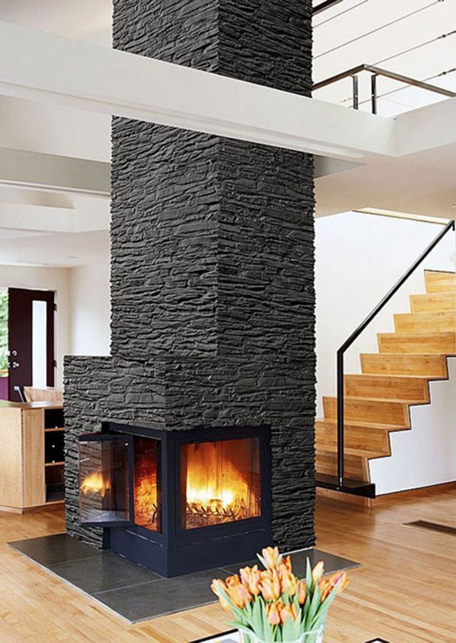 Fireplace Design beautiful fireplaces : 127 best Beautiful Fireplaces images on Pinterest
