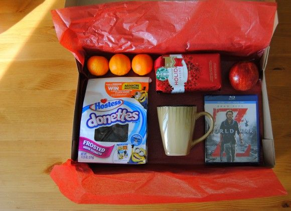 Christmas Eve box ideas for dads...would be fun for the kids to put together