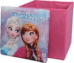 Disney Frozen Square Shaped Childrens Storage Box By BestTrend