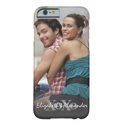 Photo Valentine's Day XoXo Names Barely There iPhone 6 Case Upload your photo and add your custom names in the template areas. A great gift for your love.