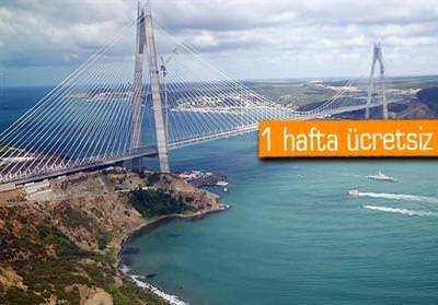 Yavuz Sultan Selim Köprüsü resmen açıldı | Haber Günü