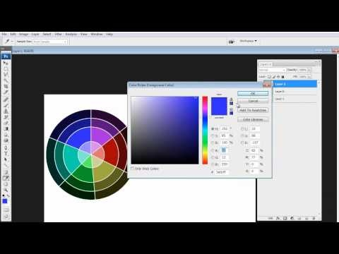 how to show color palette in after effects