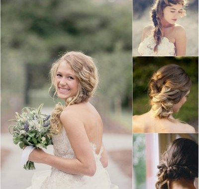 Wedding Hair With Clip in Extensions