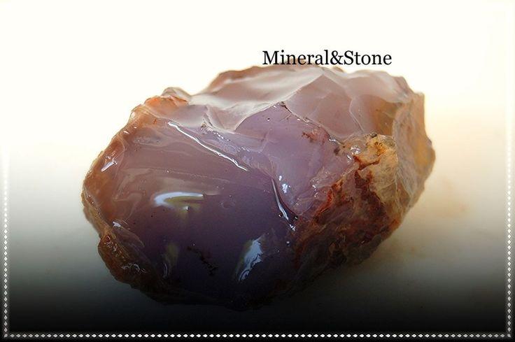 Anatolia Chalcedony Purple-Lavender Color Natural Rough 210 GRAM FROM / TURKEY #MineralStone