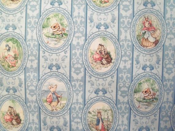 Beatrix Potter Victorian Nursery Cameo by RedTractorDesigns, $8.00
