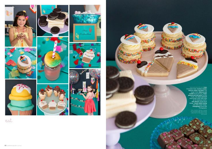 Ice cream party on issue 21 of Tickle the Imagination. Photo Emmy Etié www.emmyetie.com