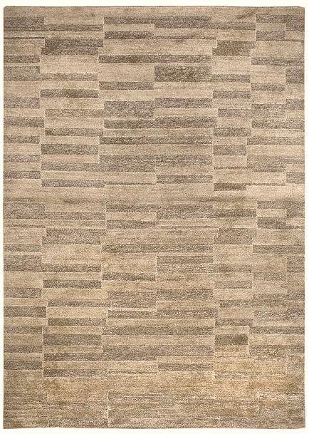 Albers: handknotted 'indotibetan' carpet in vegetable undyed yarns