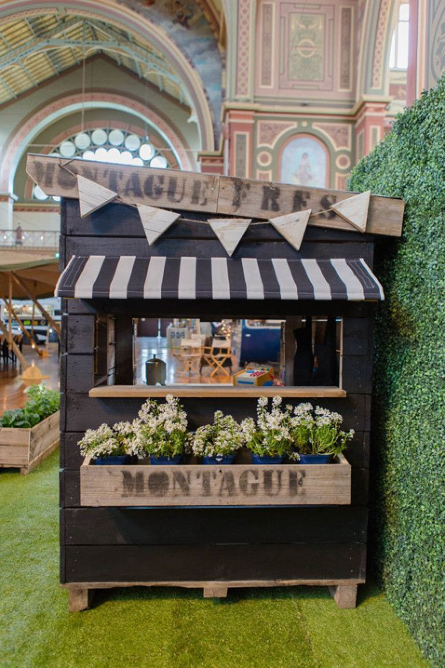 Our Farmers Market Cubby House made in Melbourne Australia. Let your kids run their own Farmers Market stall selling their wares.