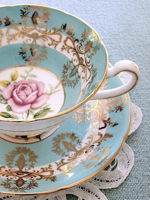 I need to start having tea parties, ASAP