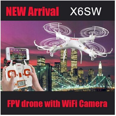 63.69$  Watch here - http://ali2ih.shopchina.info/1/go.php?t=32795679816 - With Cameras X6SW 2.4G Remote Control Toys 4CH 6-Axis gyroscope RC Quadcopter RC Helicopters Radio Control Aircraft RTF Drone  #aliexpresschina