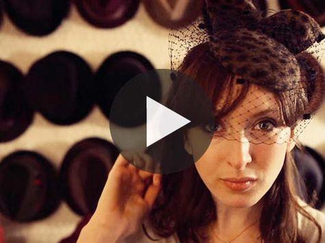 WATCH: HANDMADE HATS -#HatAcademy #millinery