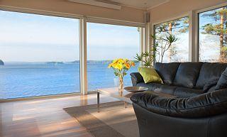 Strand huis in de buurt van Göteborg met hoge normen en een eigen strandVakantieverhuur in Gothenburg Suburbs van @homeaway! #vacation #rental #travel #homeaway