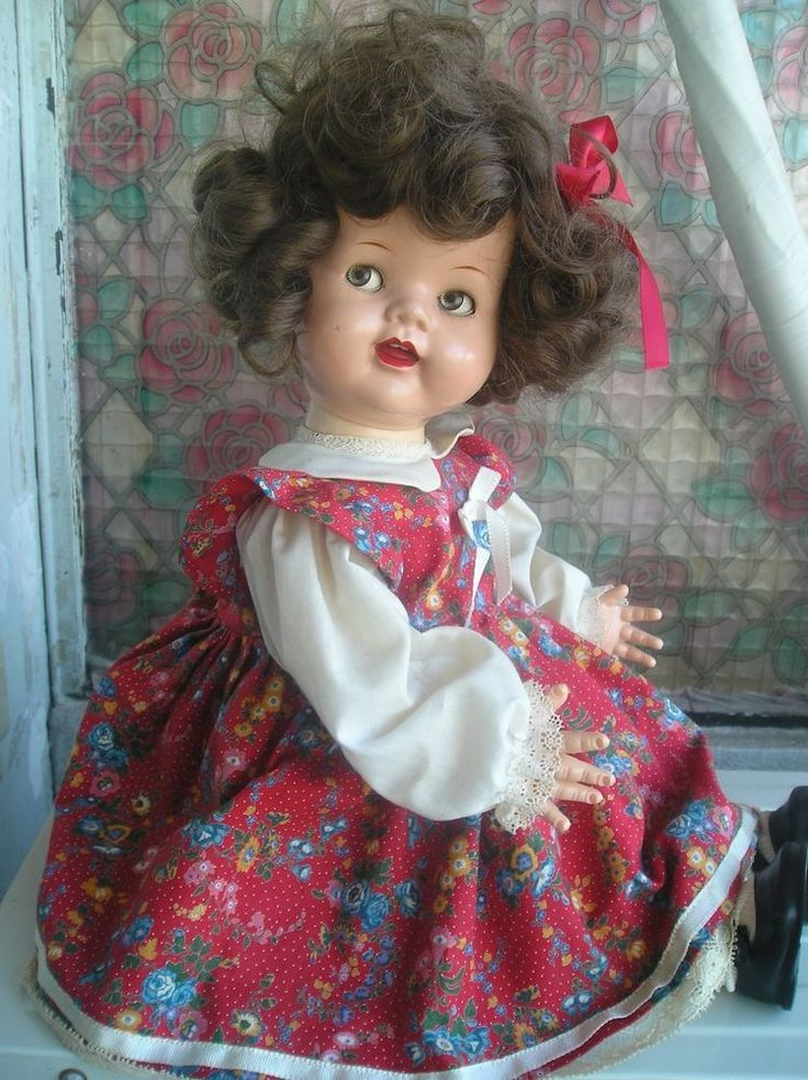 ANCIENNE POUPEE SAUCY WALKER YEUX RIBOULANTS ANNEE 50 IDEAL, RAYNAL....