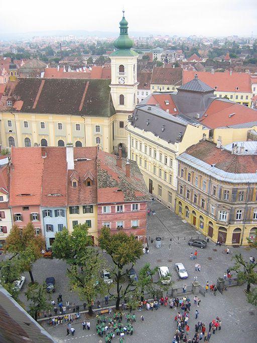 Transylvanian Saxon centre Sibiu, Romania www.romaniasfriends.com